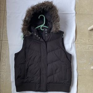 💥Gap Puffy Vest with hood